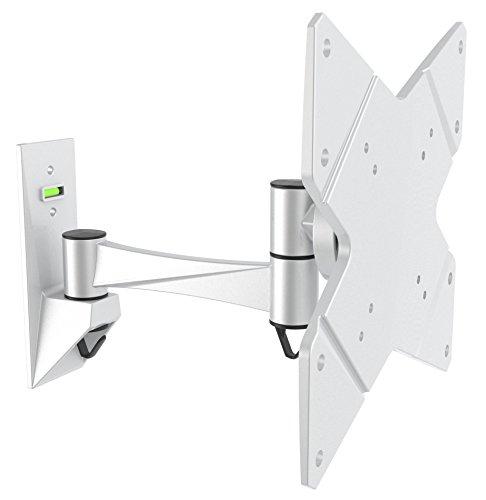 """RICOO Monitorhalterung Wand Wandhalterung Monitor Schwenkbar Neigbar S1622S TFT Halterung PC Computer Bildschirm Fernseher Wandhalter 38cm/13\"""" - 81cm/32\"""" Zoll/VESA 100x100 200x100 200x200"""