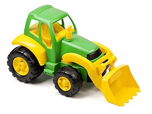 Miniland 29906 Super Tractor - Coche teledirigido, Color Verde