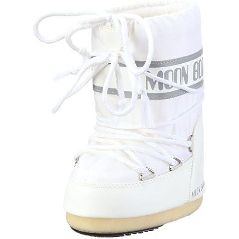 Tecnica Moon Boots - Botas de nieve de nailon, color blanco, talla 39-41