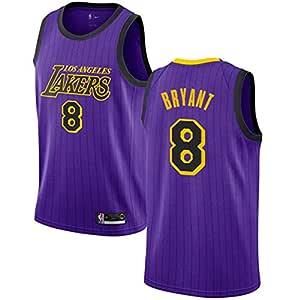 XGMJ Lakers 8# Basketball Jersey Kobe Commemorative Jerseys Unisex ...