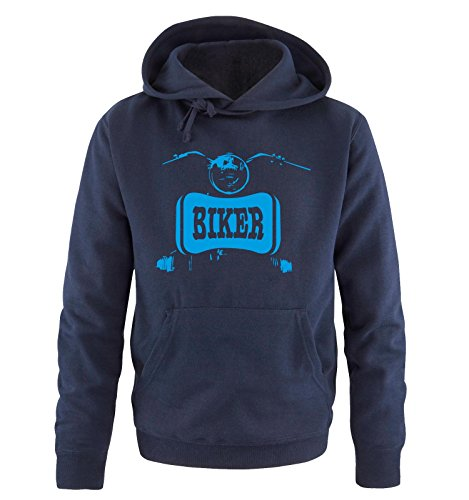 Comedy Shirts -  Felpa con cappuccio  - Maniche lunghe  - Uomo navy / blue