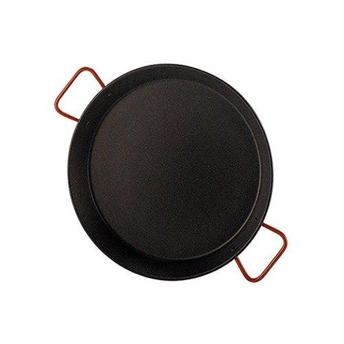 Garcima Paellera Valenciana, Acero, Negro/Rojo, 30 cm