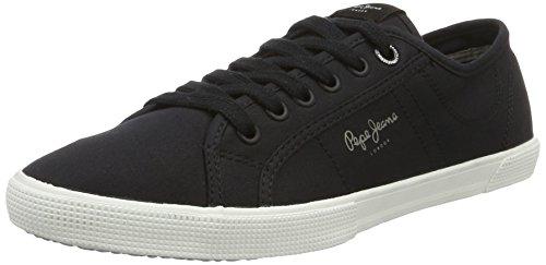 Pepe Jeans Aberman 2.1, Sneakers Basses Homme Noir (Black)