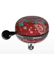 Basil Fahrradklingel Big Bell Bloom, Scarlet Red, One Size, 50393