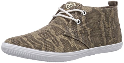 Tamaris - 25210, Scarpe stringate basse derby Donna Multicolore (Mehrfarbig (Brown Camoufl. 379))