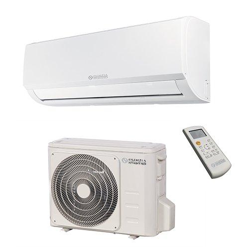 Olimpia splendid climatizzatore fisso 10.000 btu/h inverter caldo freddo pompa di calore e wi-fi control con smartphone, aryal s1 e inverter 10 , classe energetica a++ / a+