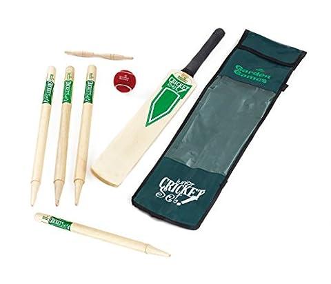 Garden Games Wooden Junior Cricket Set -Size 3 Junior cricket