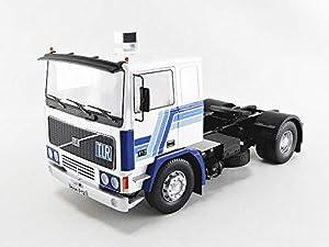 ROAD KINGS RK180033W - Coche en Miniatura, Color Blanco y Azul