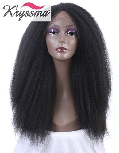 kryssma-black-kinky-straight-cheveux-hair-natural-looking-longue-synthetic-lace-front-wig-half-hand-