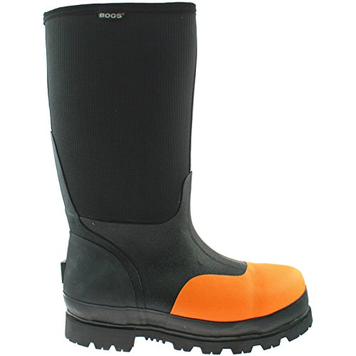 BOGS Mens Steel Toe Safety Wellies Boots Size UK 7-12 Wellington Rancher 71476-UK 7 (EU 41)