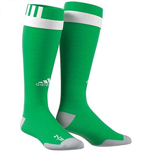 adidas Pro Sock Calcetines Hombre Verde Blanco 0
