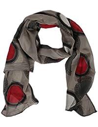 Zwillingsherz – Pañuelo de seda en diseño de punto – Bufanda de alta calidad para mujer niña – Pañuelo – Pañuelo – bufanda – bufanda suave para primavera, verano, otoño e invierno