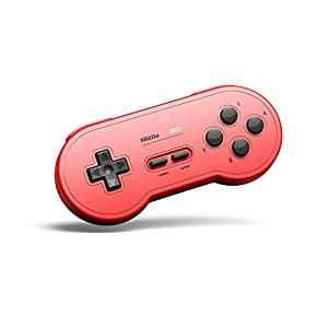 8Bitdo SN30 (GP Color Edition Red) Bluetooth Game Pad
