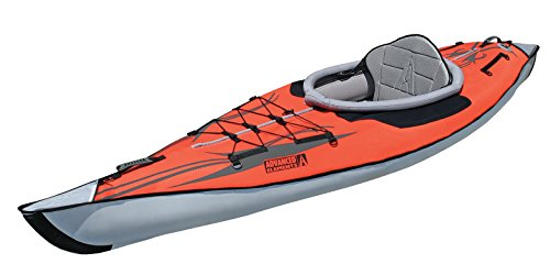 Advanced Elements AE1012-R - Kayak hinchable, color rojo
