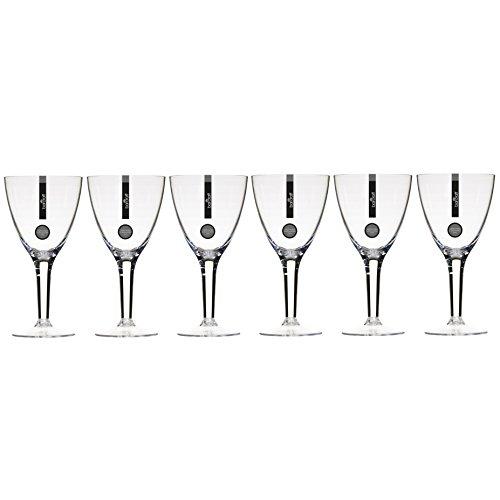 KitchenCraft Bar Craft Polycarbonat Große Weingläser, 420ml (15FL Oz) (klar), 6Stück, Set von 6 Polycarbonat Drinkware