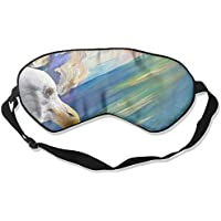 Eye Mask Eyeshade Seagull Drawing Sleeping Mask Blindfold Eyepatch Adjustable Head Strap preisvergleich bei billige-tabletten.eu