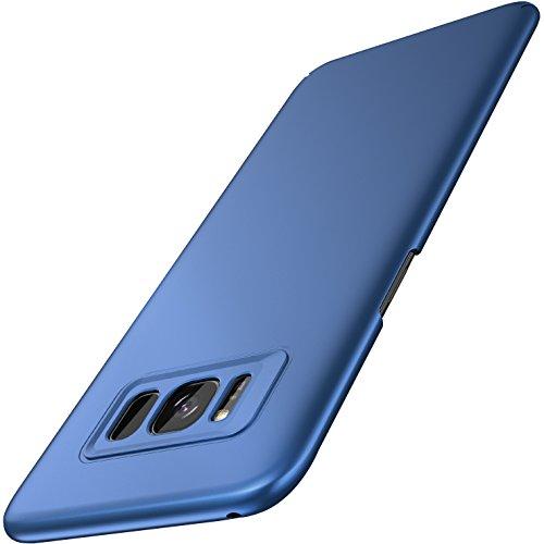 Galaxy S8 Plus Hülle Case, RANVOO S8 Plus Hülle Case Kunststoff Handyhülle Kameraschutz Schutzhülle Slim Matt Hardcase Anti-Kratzer Anti-Fingerabdruck Cover Case für Samsung Galaxy S8 Plus/S8+, 6.2 Zoll (Blau)