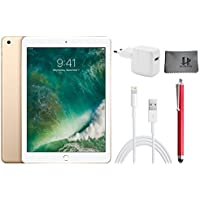 Apple iPad Wifi ​​​Tablet​ PC MPGT2FD/A ​ ​24,6 cm (9,7 Zoll)​ - 32GB​,​ Gold + ​Highend Zubehor Bundle ** Neueste model 2017 **
