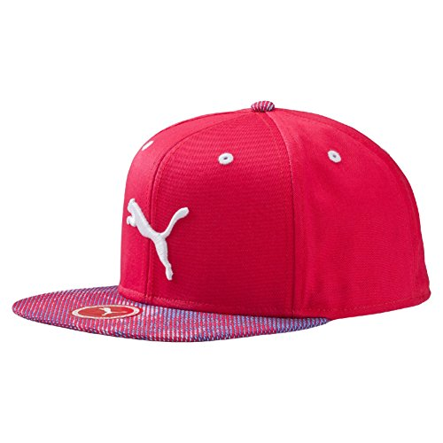 Puma Graphic Flatbrim Cappellino con Berretto, Fucsia (Rose Red), Adulto
