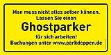 Parkzettel zum Dampfablassen von Inkognito - 8