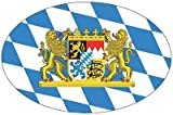 Autoaufkleber Wappen Fahne Bayern Löwen NEU Aufkleber