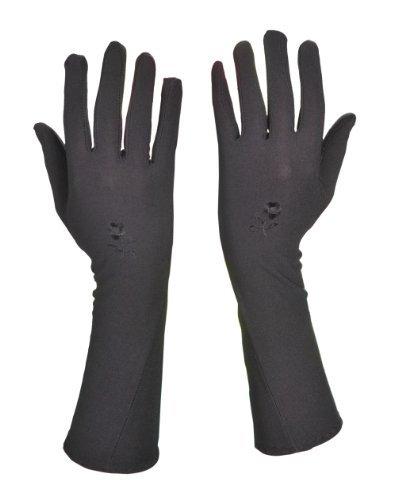 Handschuhe - Hijab - Zubehör Accessoires Gebetskleidung Islamische Kleidung (Schwarz)