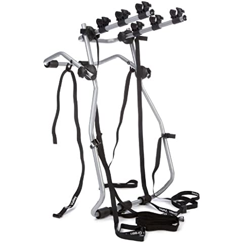 Green Valley 160621 Adventure - Soporte de bicicletas para maletero de coche (3 bicicletas)