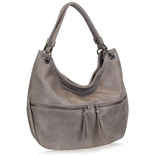Damen Handtasche Schultertasche Moderne Lässige Vintage Umhängetasche praktisch und vielseitig -