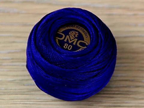 DMC fil un dentelles coton filetage 6plis 820–par 5g à crochet