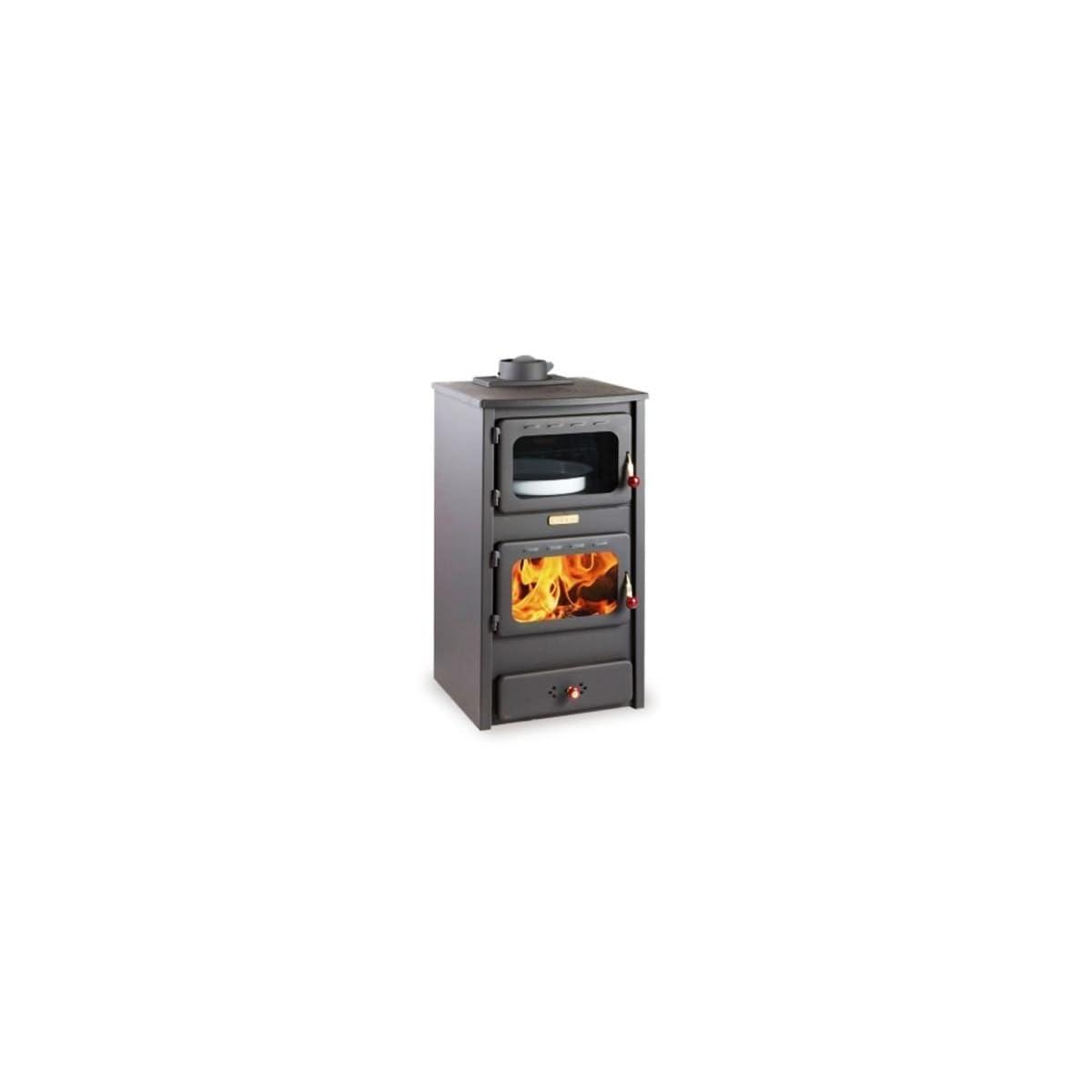 41CgCofHhEL. SS1200  - Estufa de leña con horno de hierro fundido