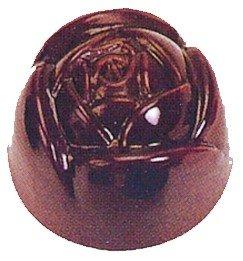 Silicone-Bakeware® Lot de 21 moules à Chocolat en Polycarbonate en Forme de Rose 27,5 x 13,5 x 2,4 cm