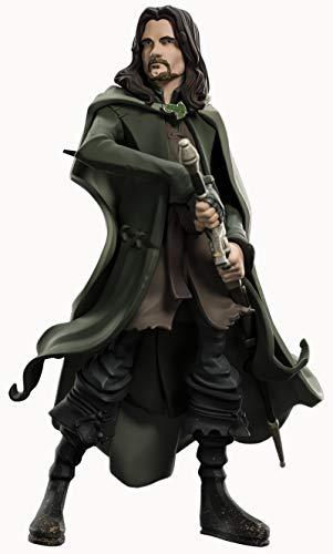Unbekannt WETA Collectibles - Herr der Ringe Figur Mini Epics Aragorn, Mehrfarbig (Weta Workshop WETA865002518) -