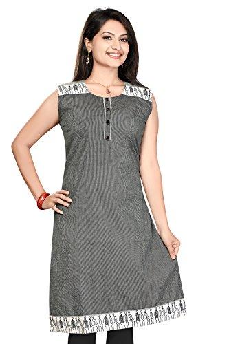 Handloom cotton Long Kurtis (Size