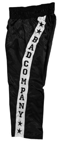 Pro Satin Kickboxhose schwarz aus 100% Polyester (Stück), M