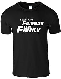 I Don't Have Freunde Herren T-Shirt Geschenk schnell und wütend TShirt