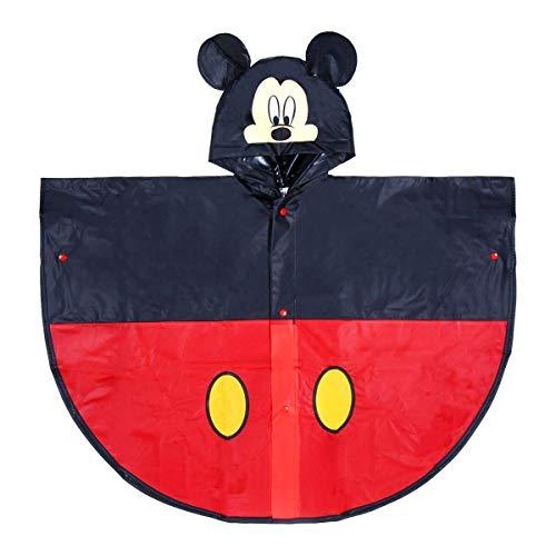 Cerdá mantella impermeabile poncho pioggia disney mickey topolino - 56 anni