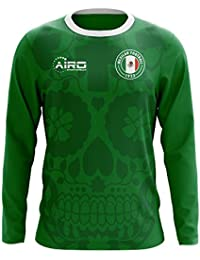 Airo Sportswear 2018-2019 Mexico Long Sleeve Home Concept Football Soccer T-Shirt Camiseta