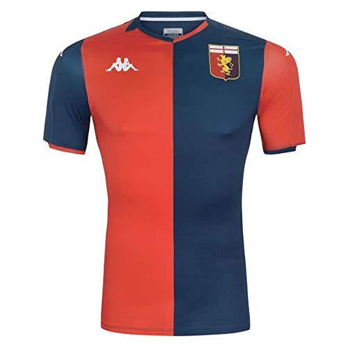 Kappa 2019-2020 Genoa Home Football Soccer T-Shirt Camiseta