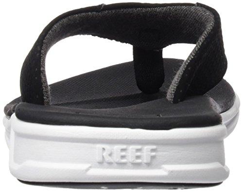 Reef Rover, Tongs Homme, Noir / Blanc, 9 EU Coloris variés (noir / blanc)