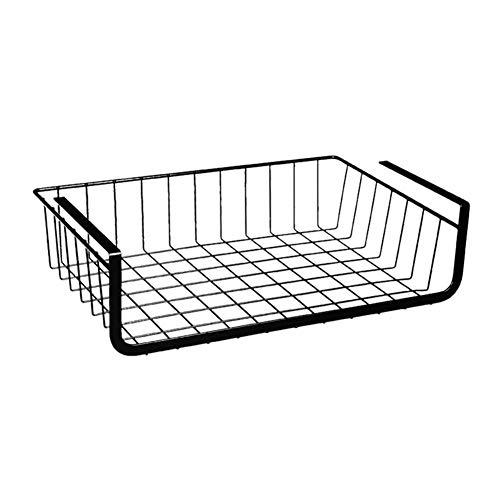youngfate Rejilla Cesta Colgante Refrigerador Cesta De Almacenamiento Cocina Rack Multifuncional Cesta De Rack De Alambre Organizador Artículos Pequeños Rack De Exhibición Cesta Decorativa