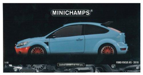 Minichamps - 100080068 - Véhicule Miniature - Modèle À L'échelle - Ford Focus RS 500 - Le Mans Classic 2010 - Echelle 1/18