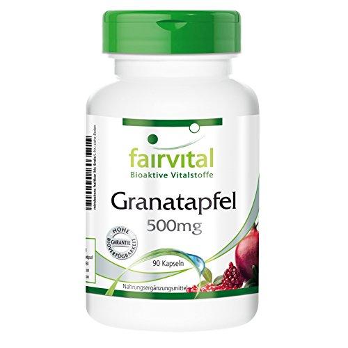 Granada cápsulas 500mg - VEGANO - Altamente dosificado