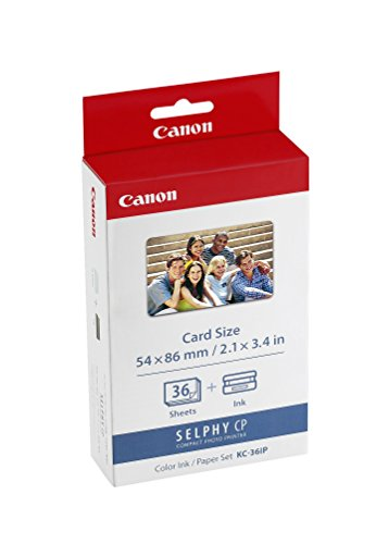 Canon 7739A001AH KC-36IP photo paper inkjet 54x86mm 36 Blatt -