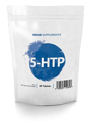 5 HTP Comprimidos 100 mg - Extracto de Griffonia simplicifolia de Focus...