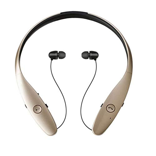 HBS-900 Wireless Headset Bluetooth Headset Stereo Bluetooth Bluetooth 4.0 Apple Android Universal , Gold (Hbs-900 Bluetooth-headset)