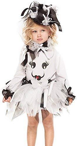 Fancy Me Italienische Herstellung Mädchen Deluxe Geist Tutu Halloween Karneval Kostüm Kleid Outfit 1-10yr - 3 Years
