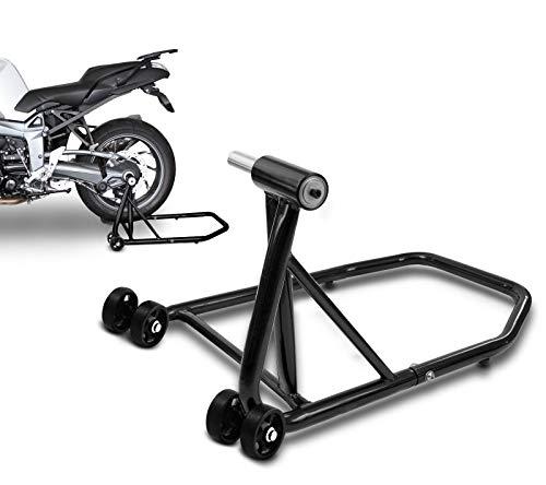 ConStands Single Béquille d'atelier Ducati Monster S4R 03-08 noir, Monobras adaptateur inclus