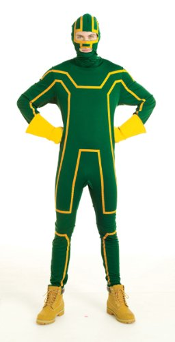 Hit Kostüm Erwachsene Für Girl - HUGHES Original lizensiertes Kick-Ass Kostüm für Erwachsene - Größe L