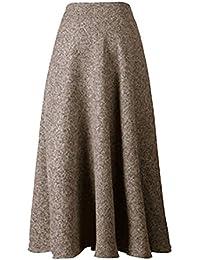 39ee3e30f7 Faldas Mujer Vintage Fashion A-Línea Swing Otoño Falda Skater Invierno  Elegantes Casual Ropa Cintura Alta