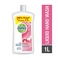 Dettol Skin Care Anti-Bacterial Liquid Hand Wash 1000ml with 50% Free
